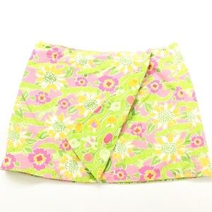 Lily Pulitzer Reversible Mini Skirt !